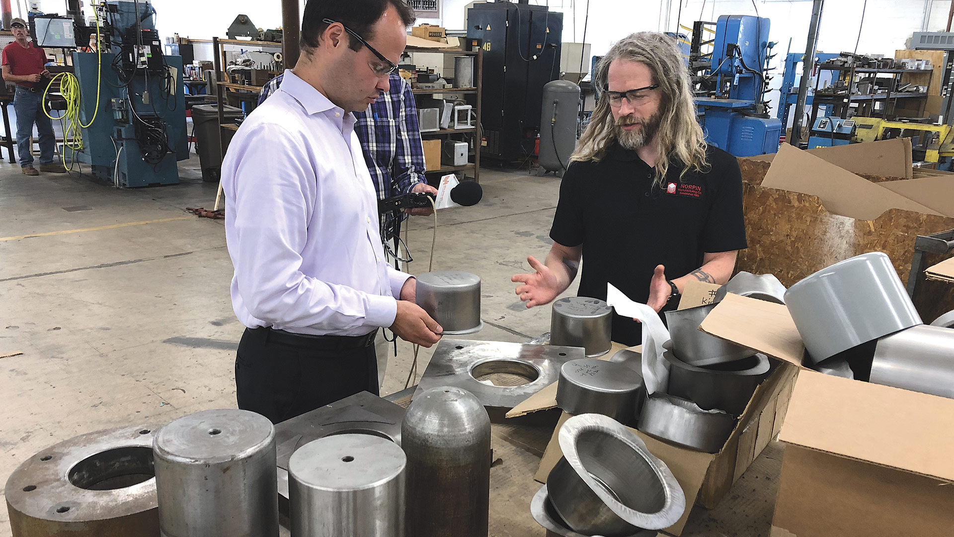 Eric Lesser says a strong precision-manufacturing sector
