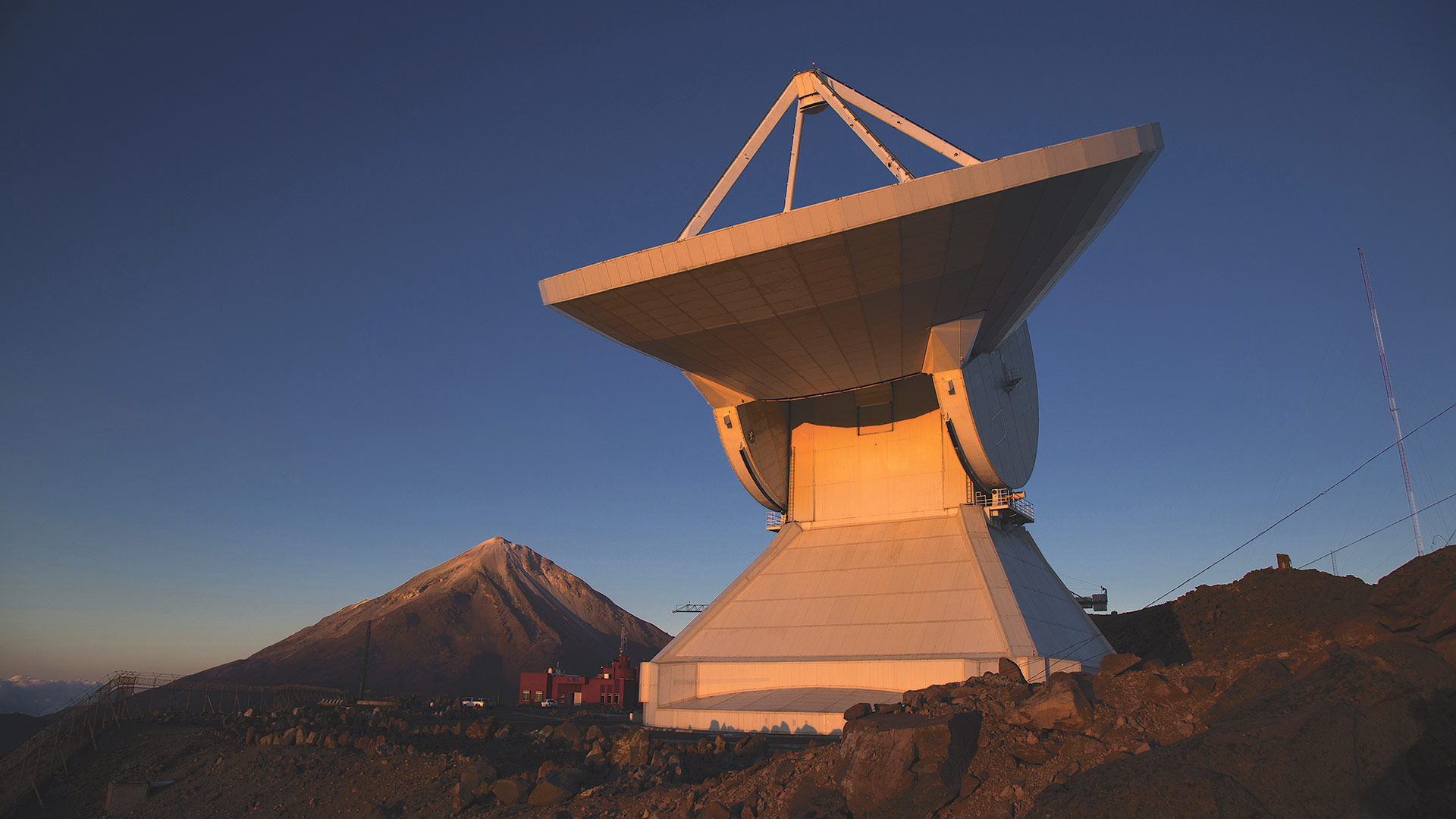 The LMT (Large Millimeter Telescope) in Mexico