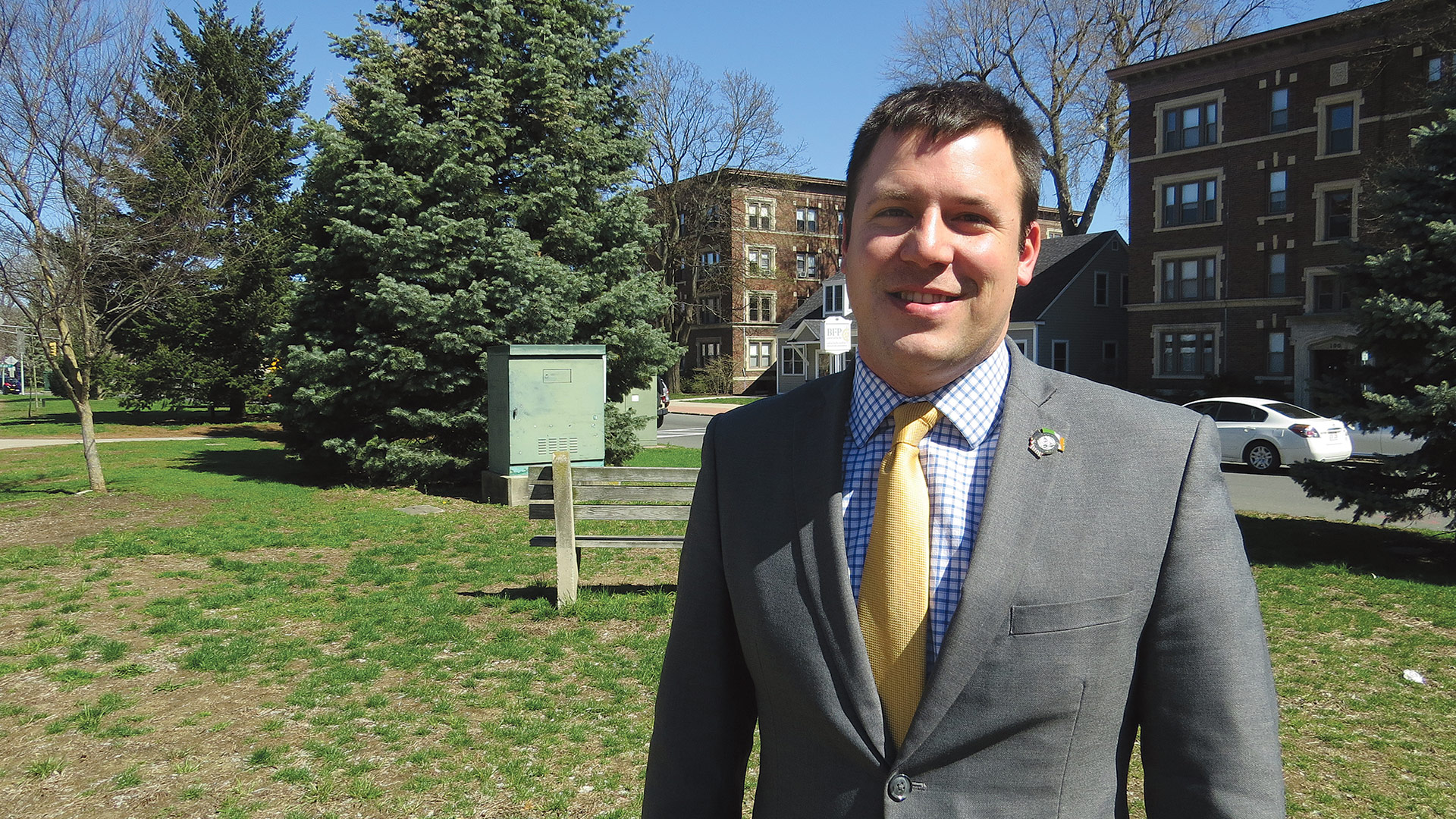 Mayor Will Reichelt