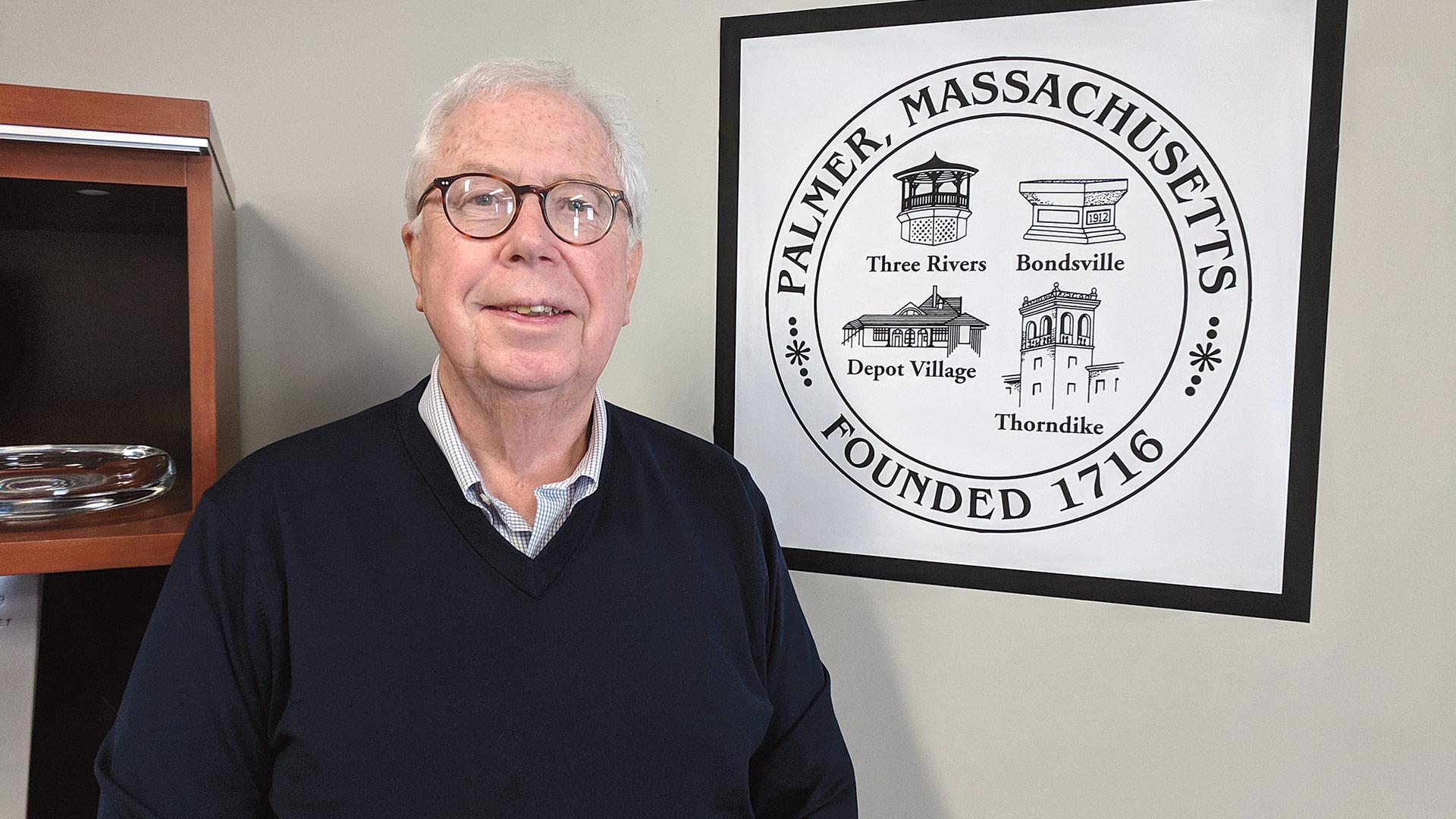 Charlie Blanchard says Palmer continues to make progress