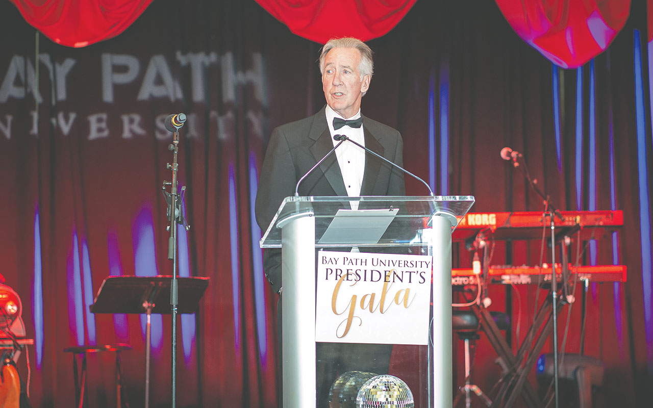 U.S. Rep. Richard Neal addresses the audience
