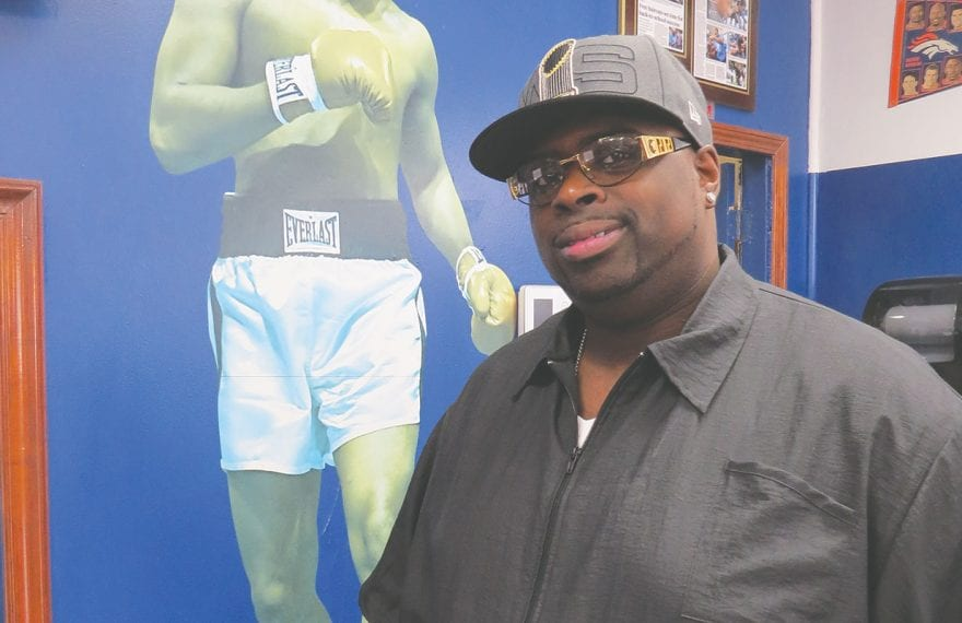 Clarence Smith, owner of Final Touch Barber Shop in Springfield