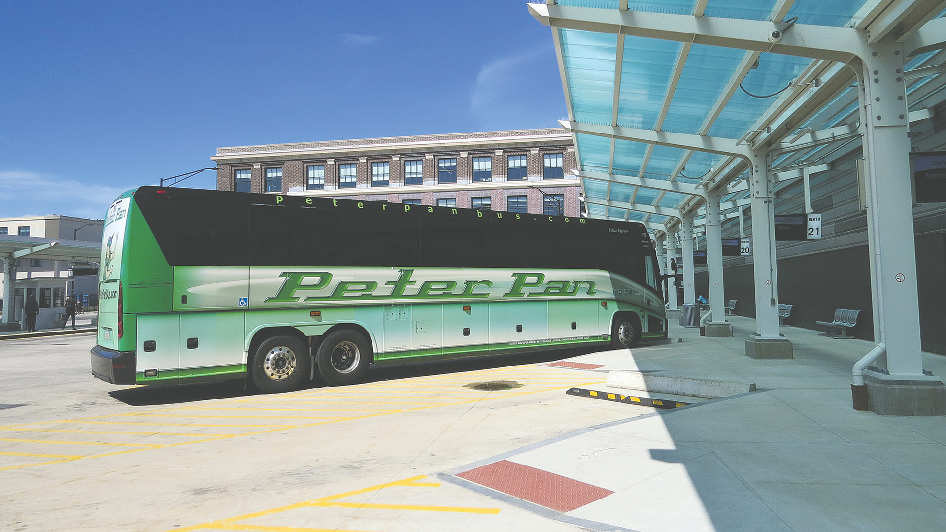 Peter Pan is currently in an expansion mode, adding new buses, drivers, and routes.