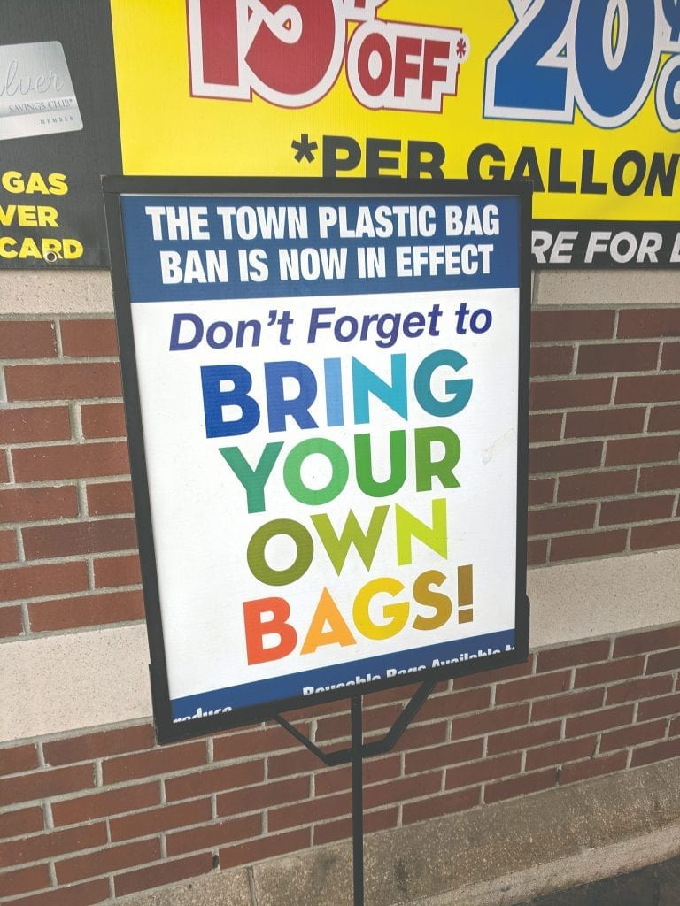 Signage at the South Hadley Big Y