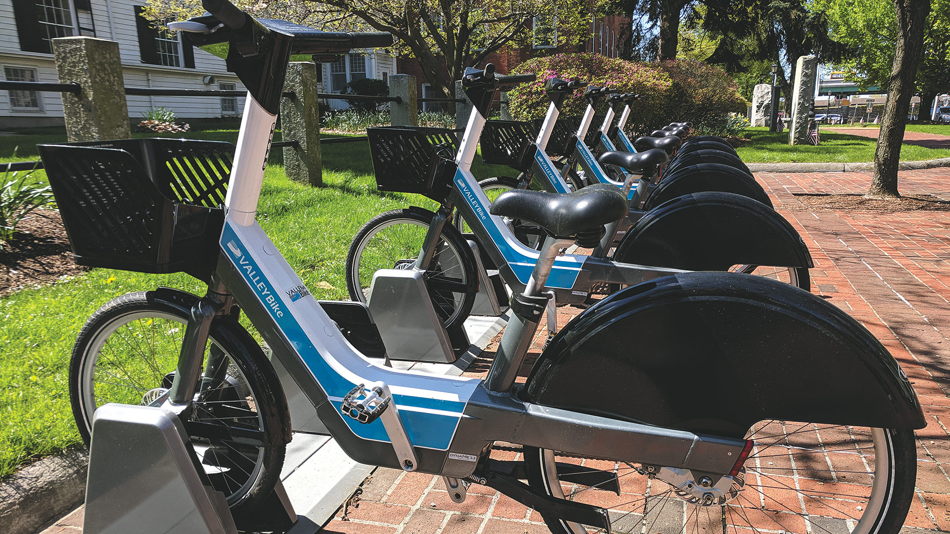 ValleyBike, a regional bike-sharing program, represents just one of the many ways the landscape has changed during Tim Brennan's tenure leading the PVPC.