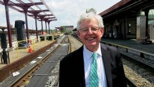 Tim Brennan has made rail service one of many points of emphasis during his tenure.