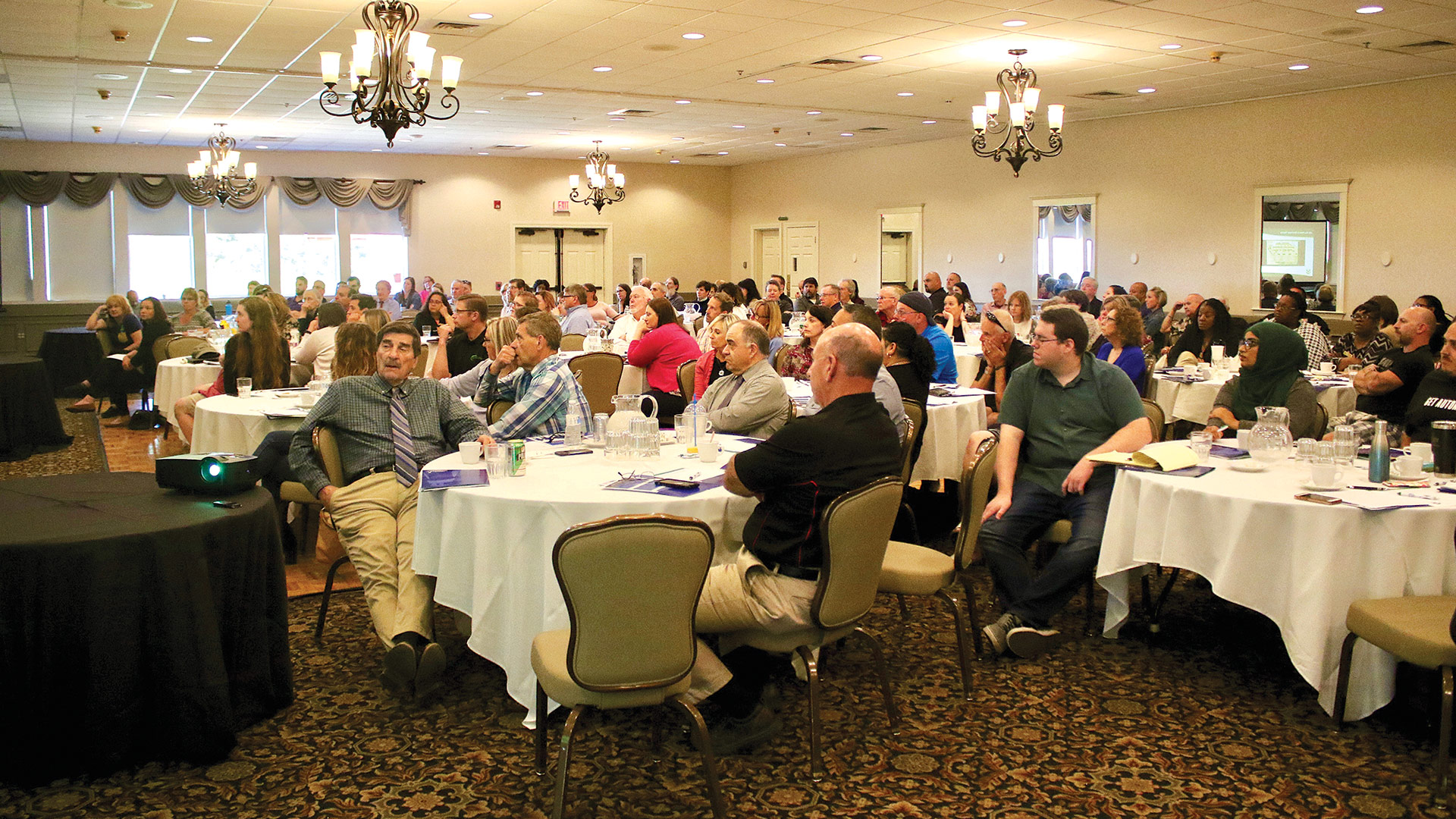 More than 140 area business owners, managers, and employees attended the event.