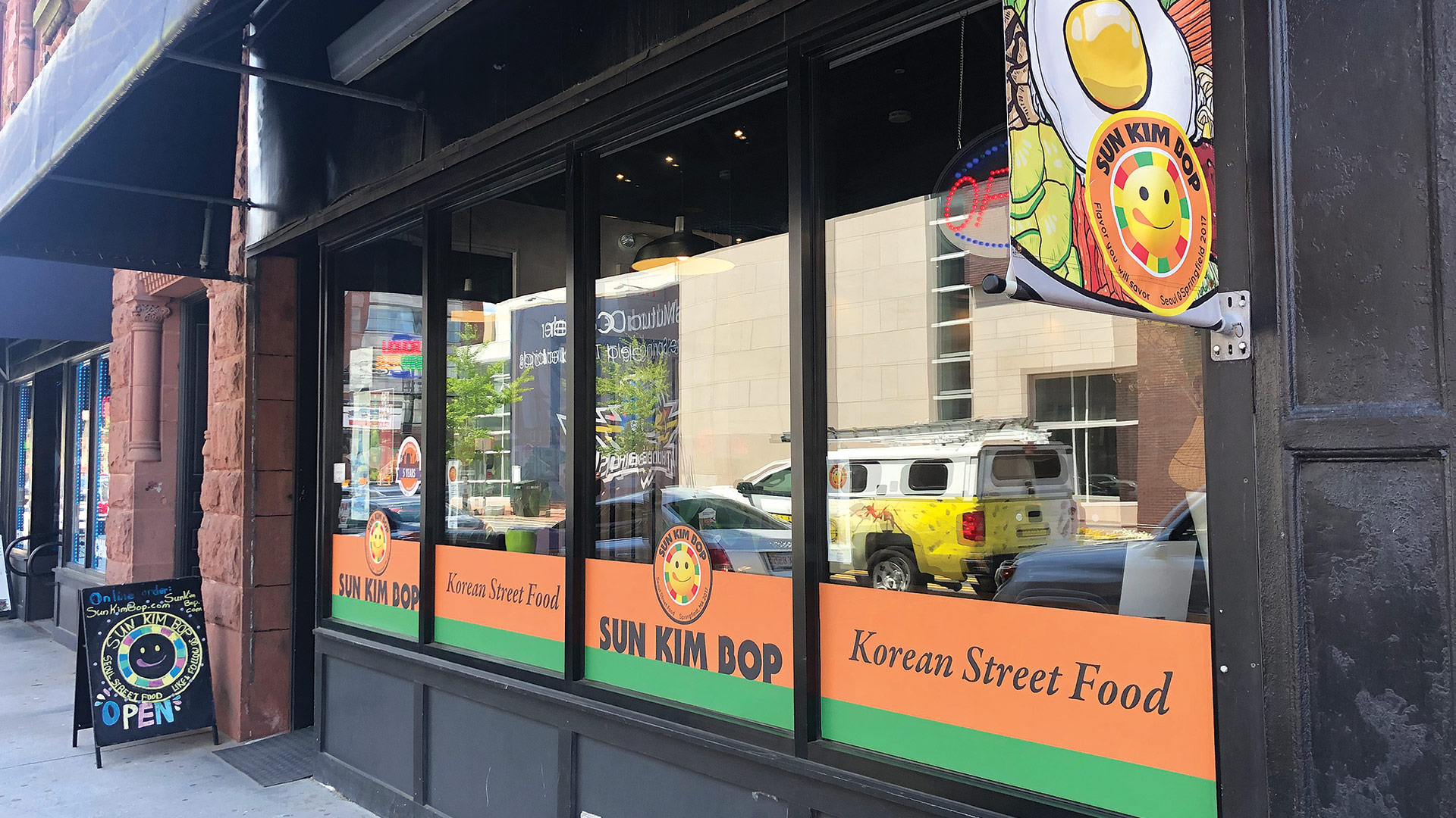 Sun Kim says her restaurant patrons will often seek out the food truck