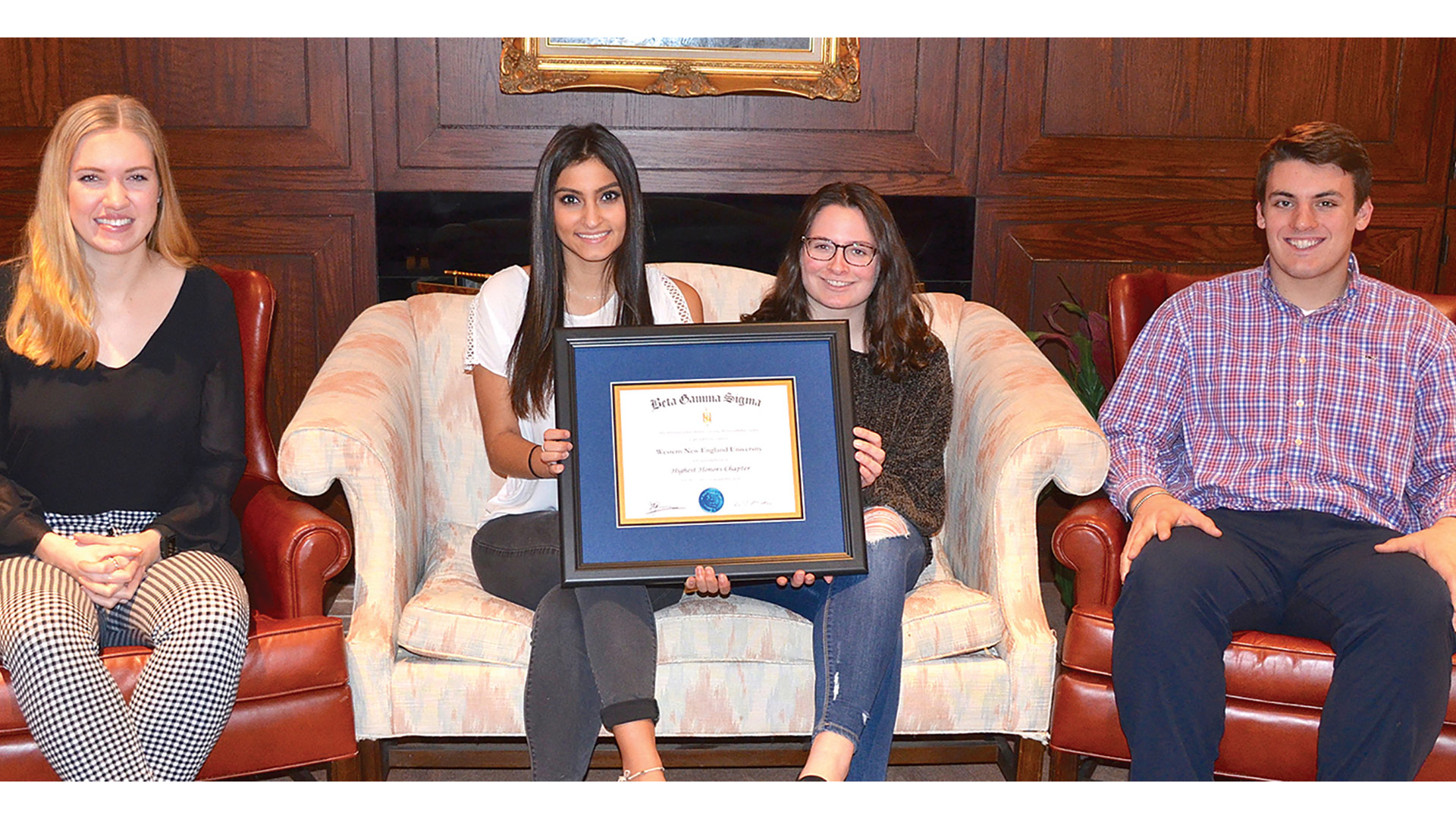For the third consecutive year, the Beta Gamma Sigma (BGS) Chapter at Western New England University