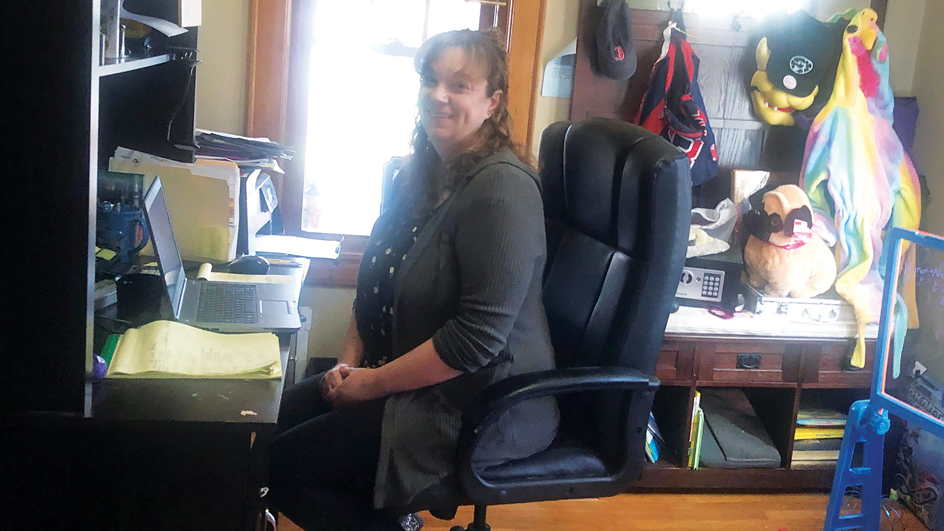 Allison Lapierre-Houle to balance working at home