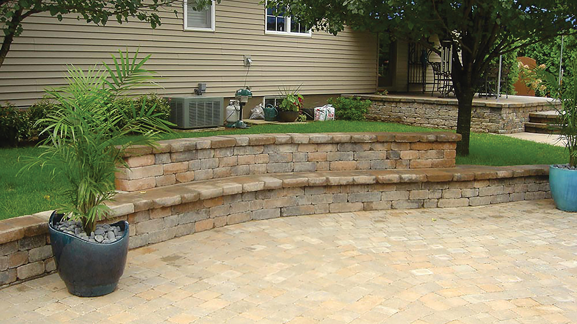 A few landscapers say hardscape projects are surging.