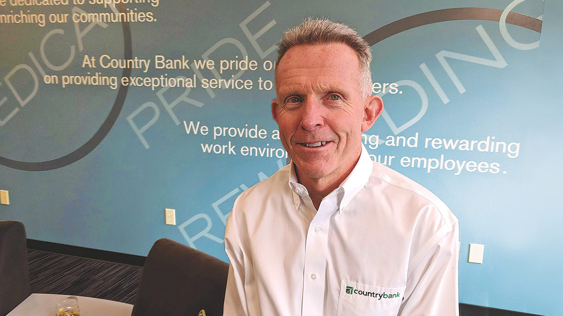 Paul Scully, president of Country Bank
