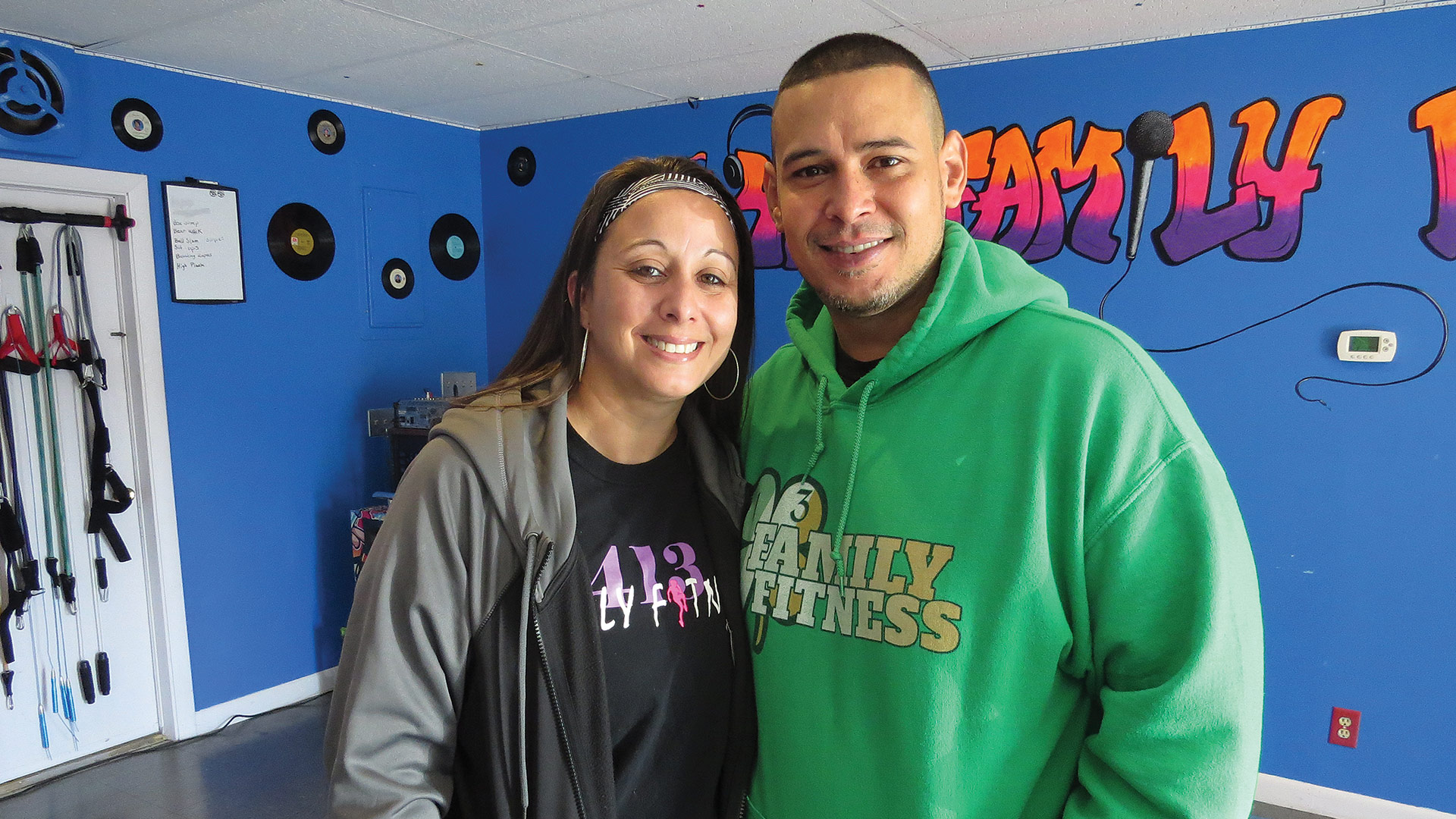 Juan and Elsie Vasquez, owners of 413 Family Fitness
