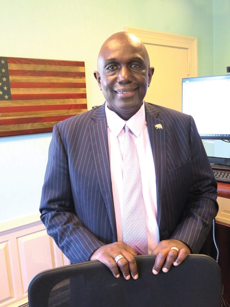 Robert Johnson, president of Western New England University