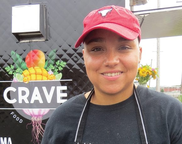 Nicole Ortiz, founder and president of Crave Food Truck