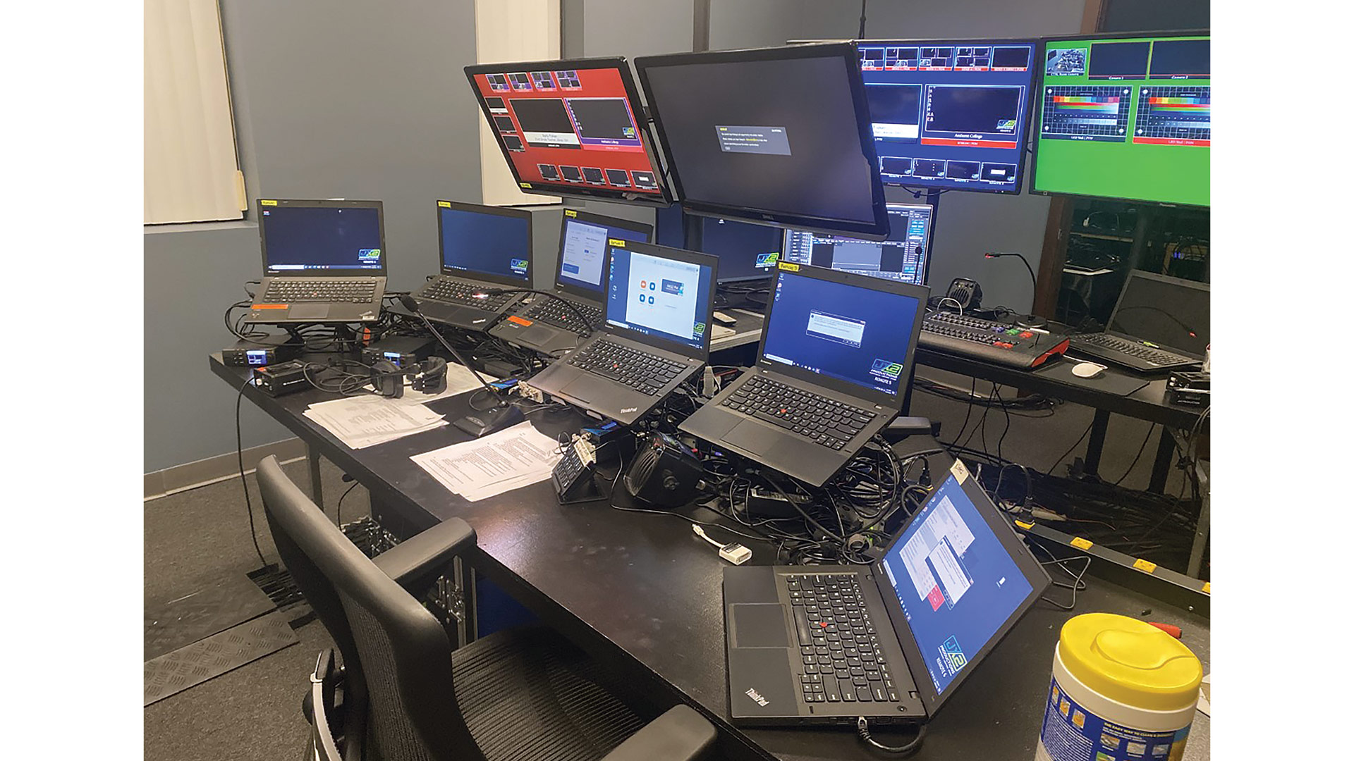 Jx2 Productions has boosted the technology in its control room