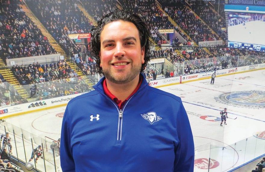 Nate Costa, president of the Thunderbirds