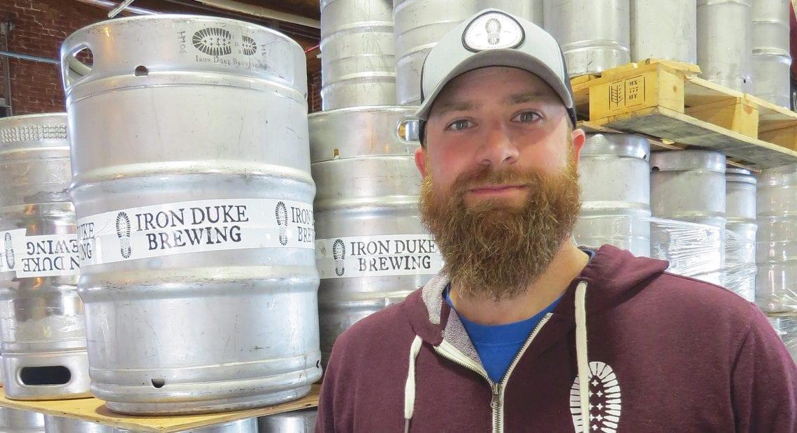 Nick Morin, founder of Iron Duke Brewing