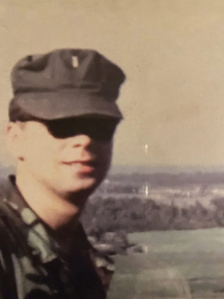 Tom Hebert began his service in Vietnam a few months after the Tet Offensive