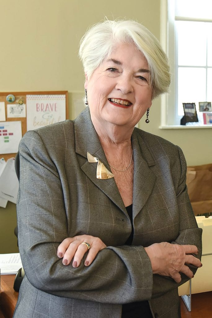 Greenfield Mayor Roxann Wedegartner