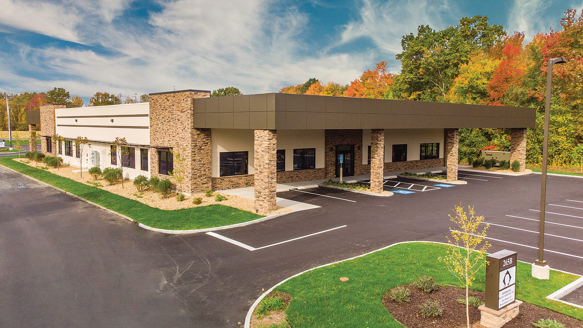 Berkshire Facial Surgery facility in East Longmeadow.