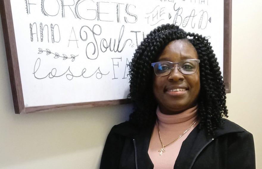 Kimberly Quiñonez says her professors