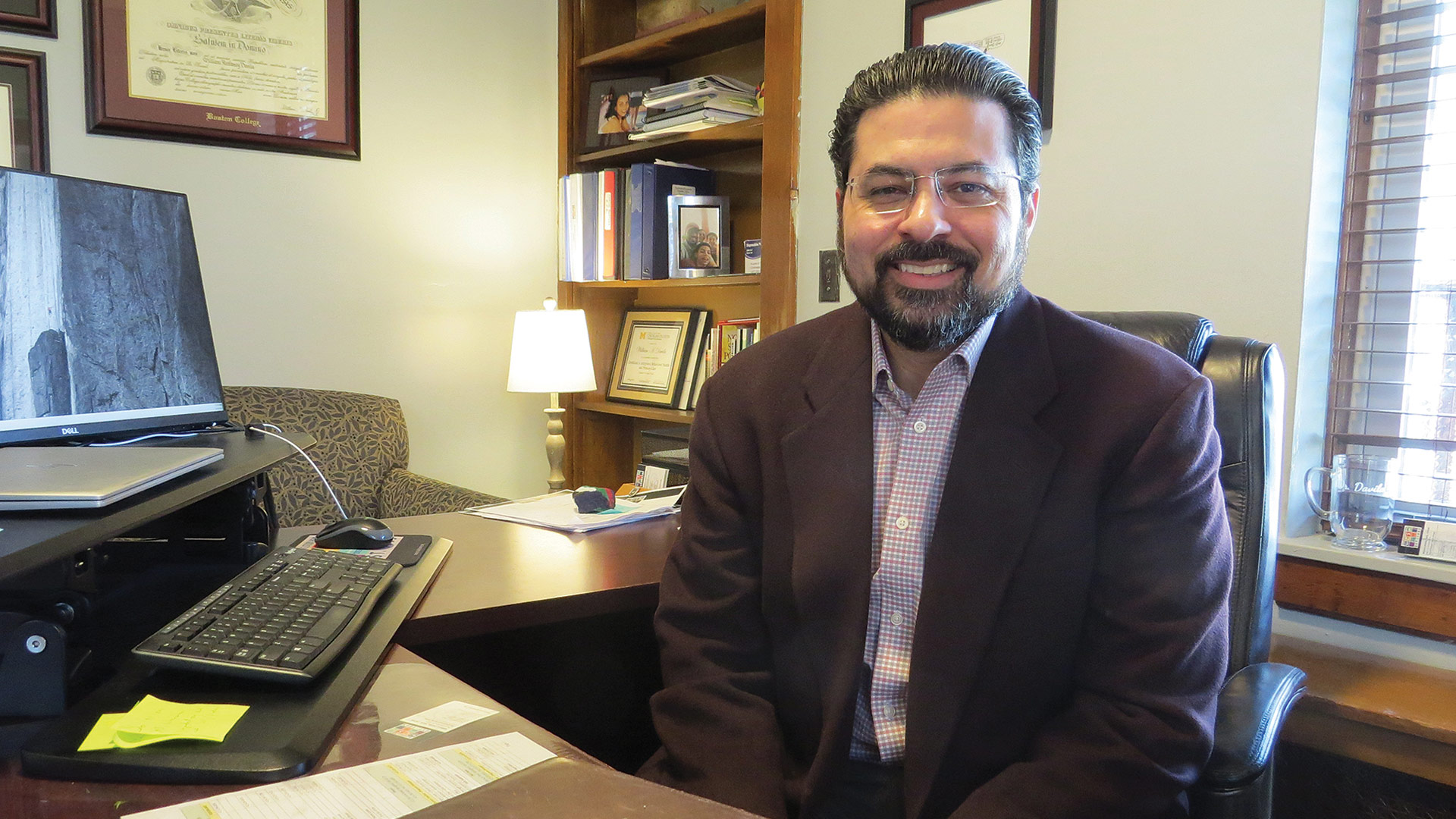 Will Dávila, executive director of the Children's Study Home