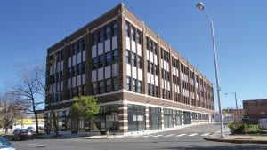 The former Willys-Overland building is now accepting lease applications