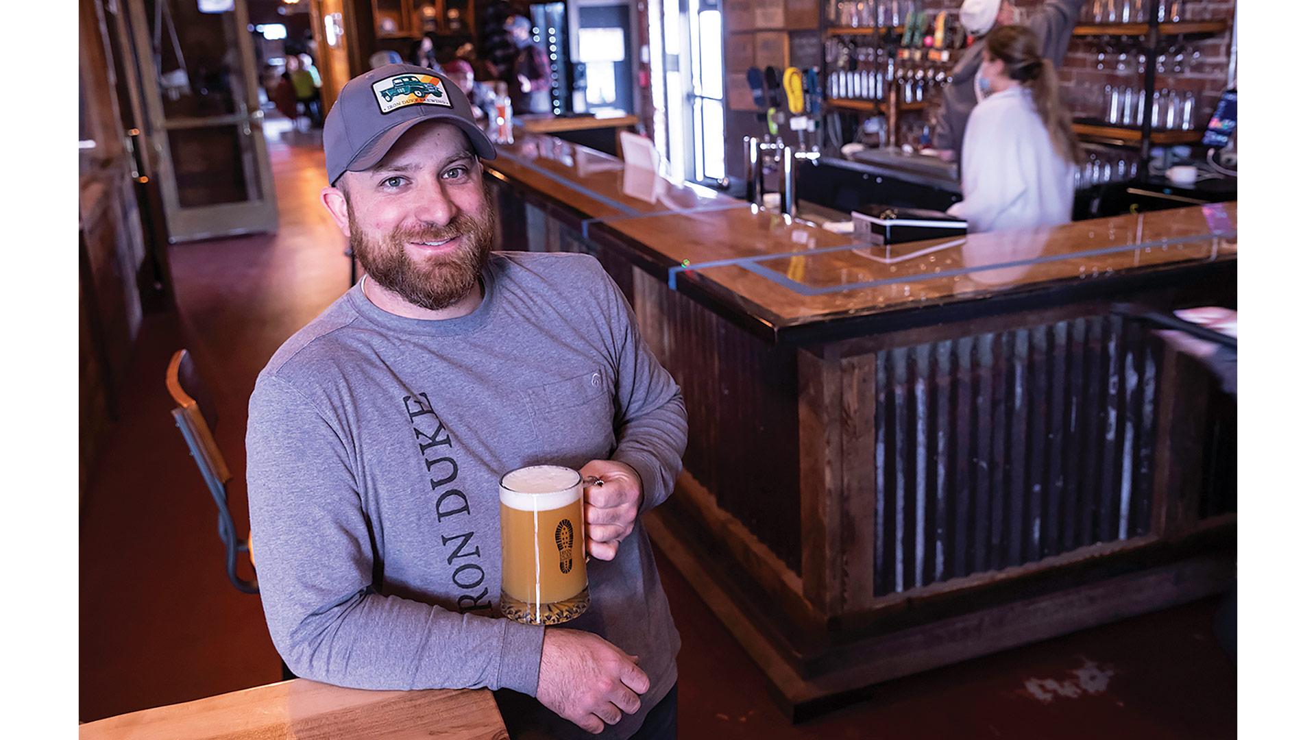 Nick Moran, founder of Iron Duke Brewing