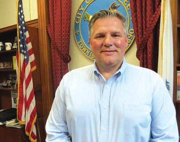 Mayor John Vieau says better control of COVID and the ongoing economic reopening have Chicopee officials excited about progress in the city.