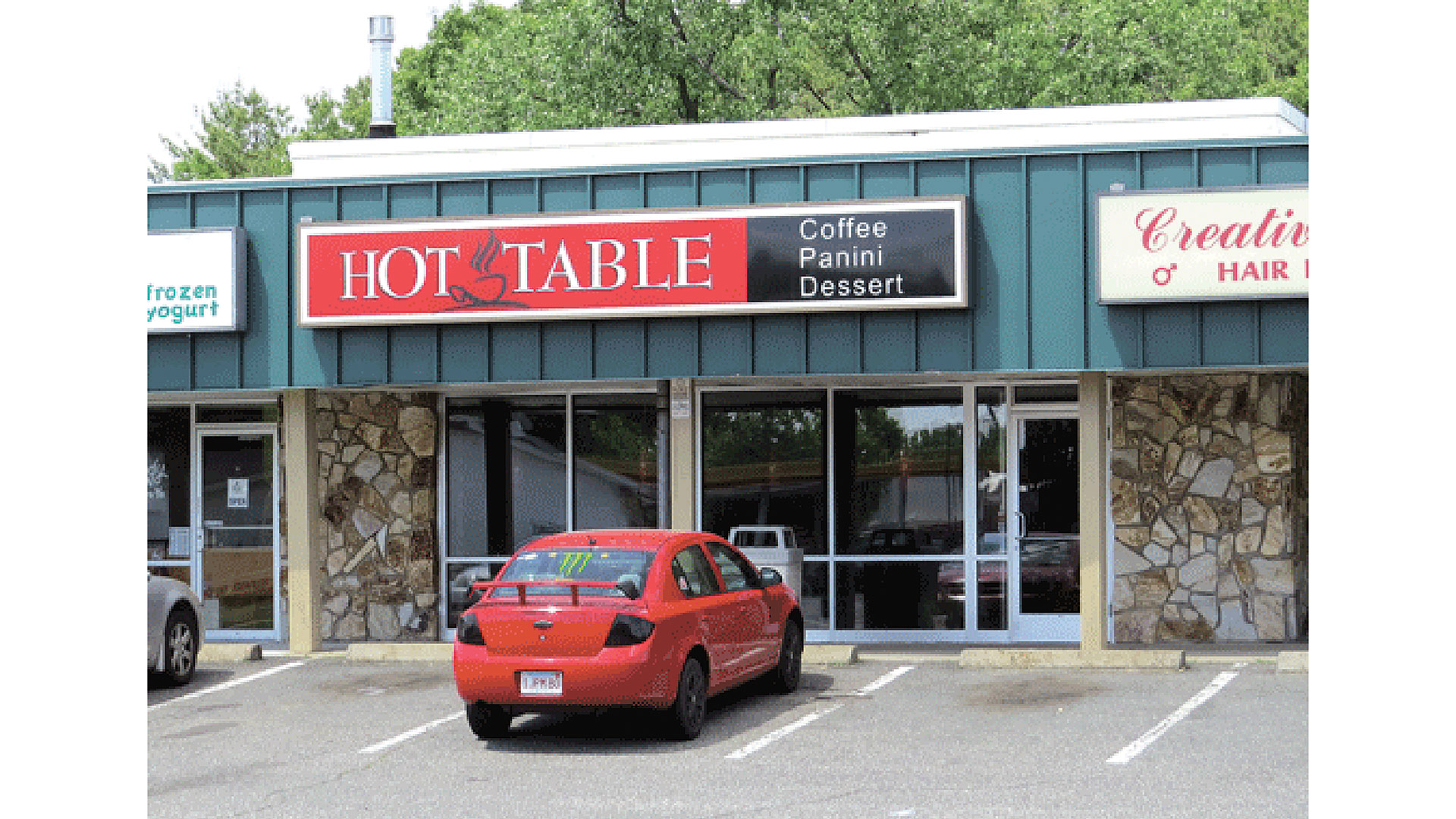 An architect's rendering of Hot Table's first free-standing location