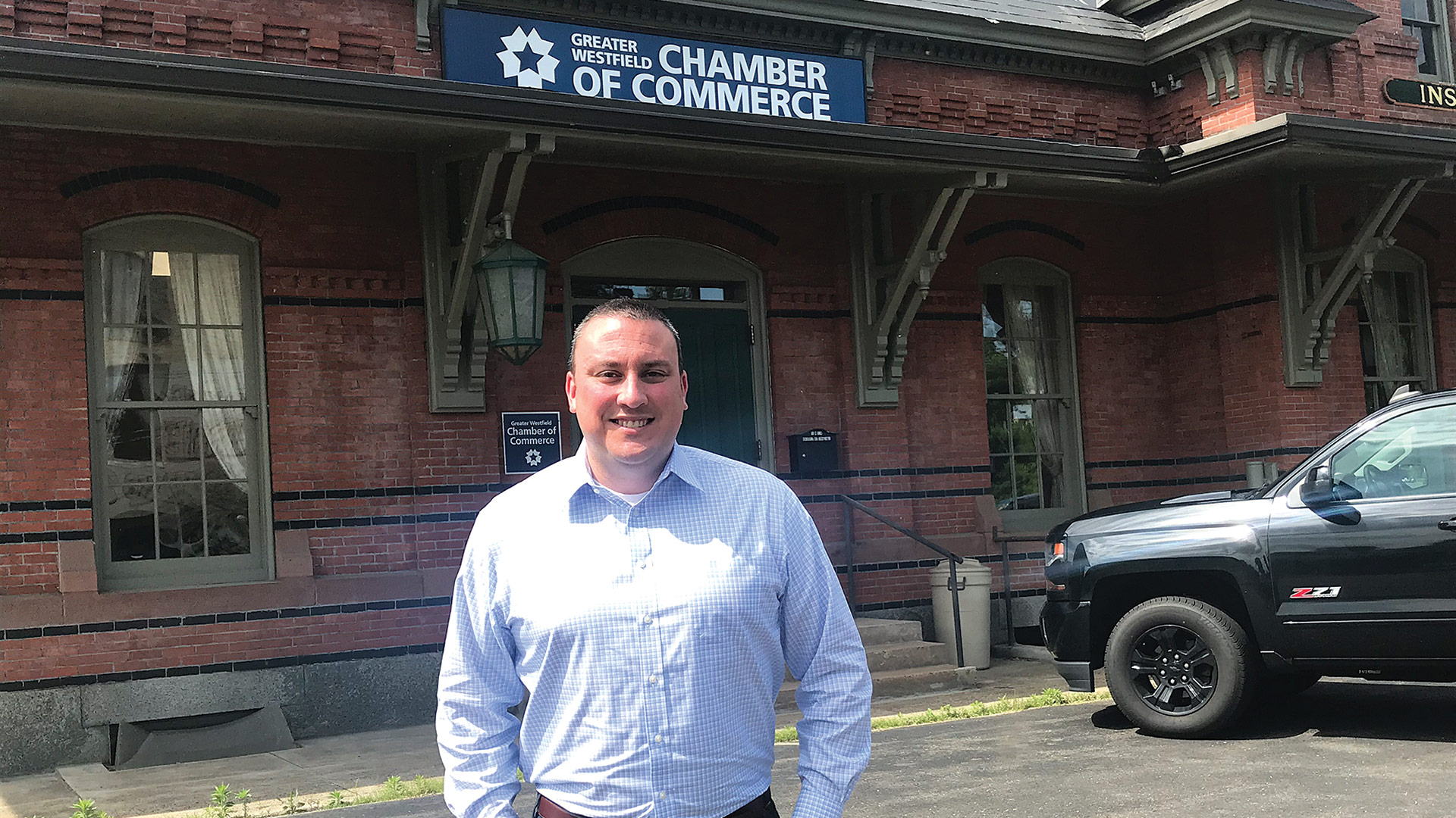 While new to chamber leadership, Eric Oulette