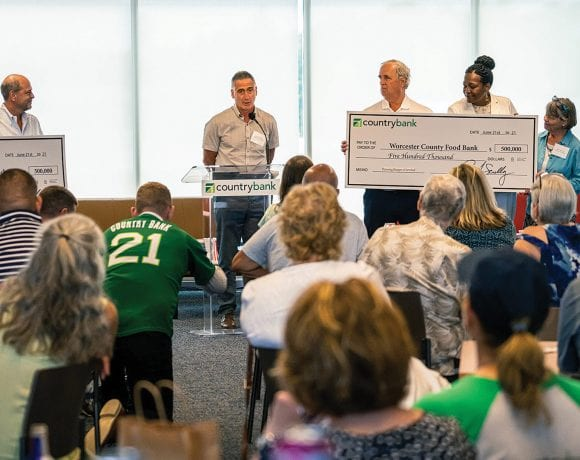 Andrew Morehouse thanks Country Bank