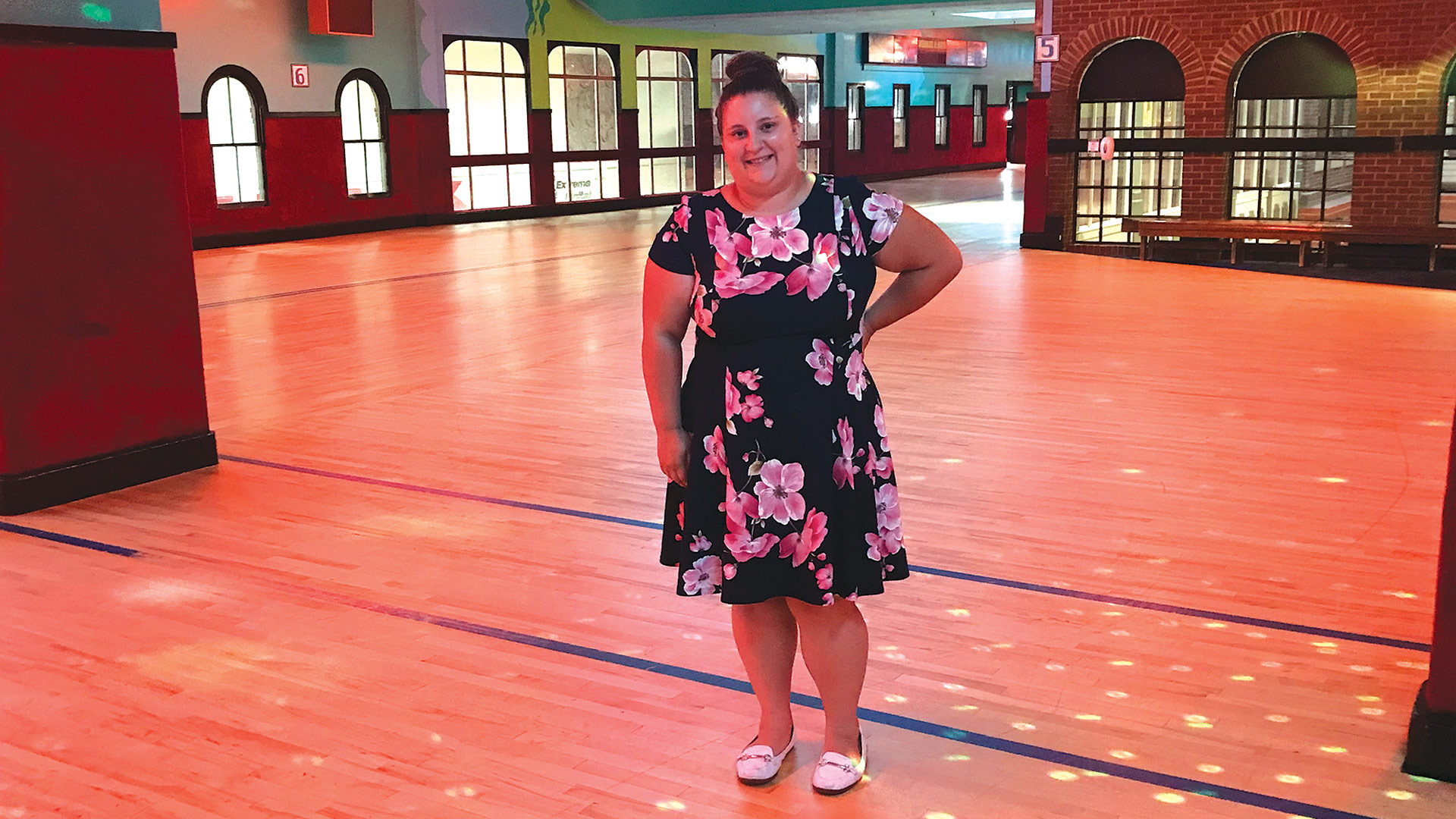 The disco lights are on again at Interskate 91, and Sarah O'Brien is expecting the crowds to return.