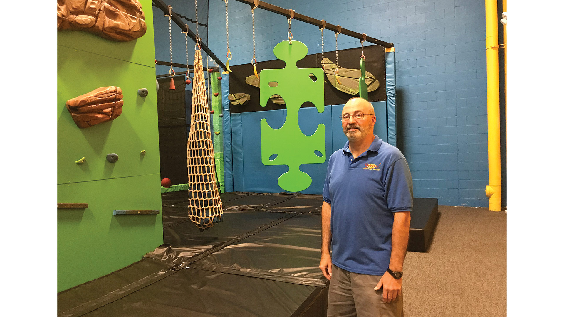 Rob Doty is expecting a big rebound at Bounce! Trampoline Sports.