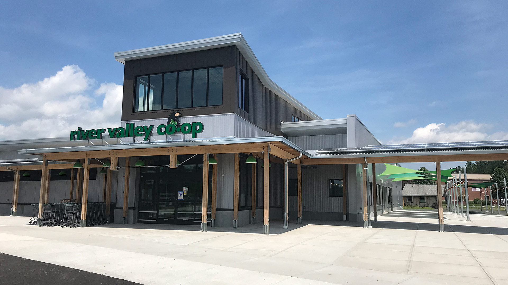 River Valley Co-op, a full-service supermarket