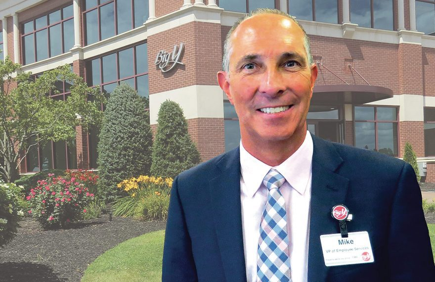 Michael Galat says Big Y is scheduling employees in a way that balances the company's needs with their own.