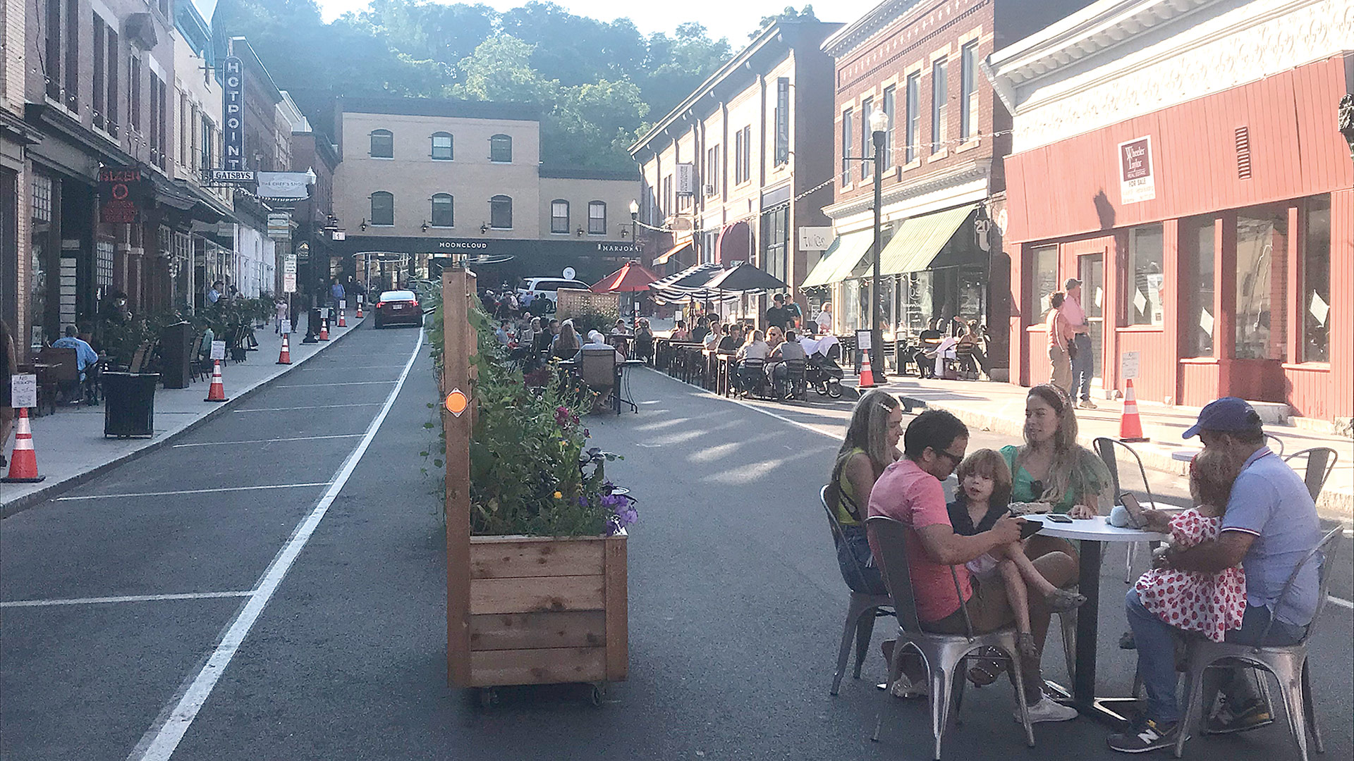Great Barrington used its Shared Streets grant