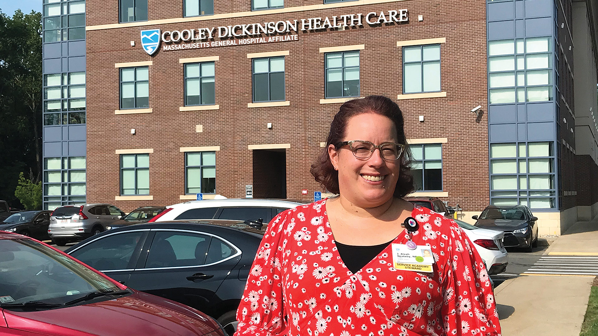 After years of pioneering work at Cooley Dickinson, Aleah Nesteby is taking her passion and talents to Transhealth Northampton.