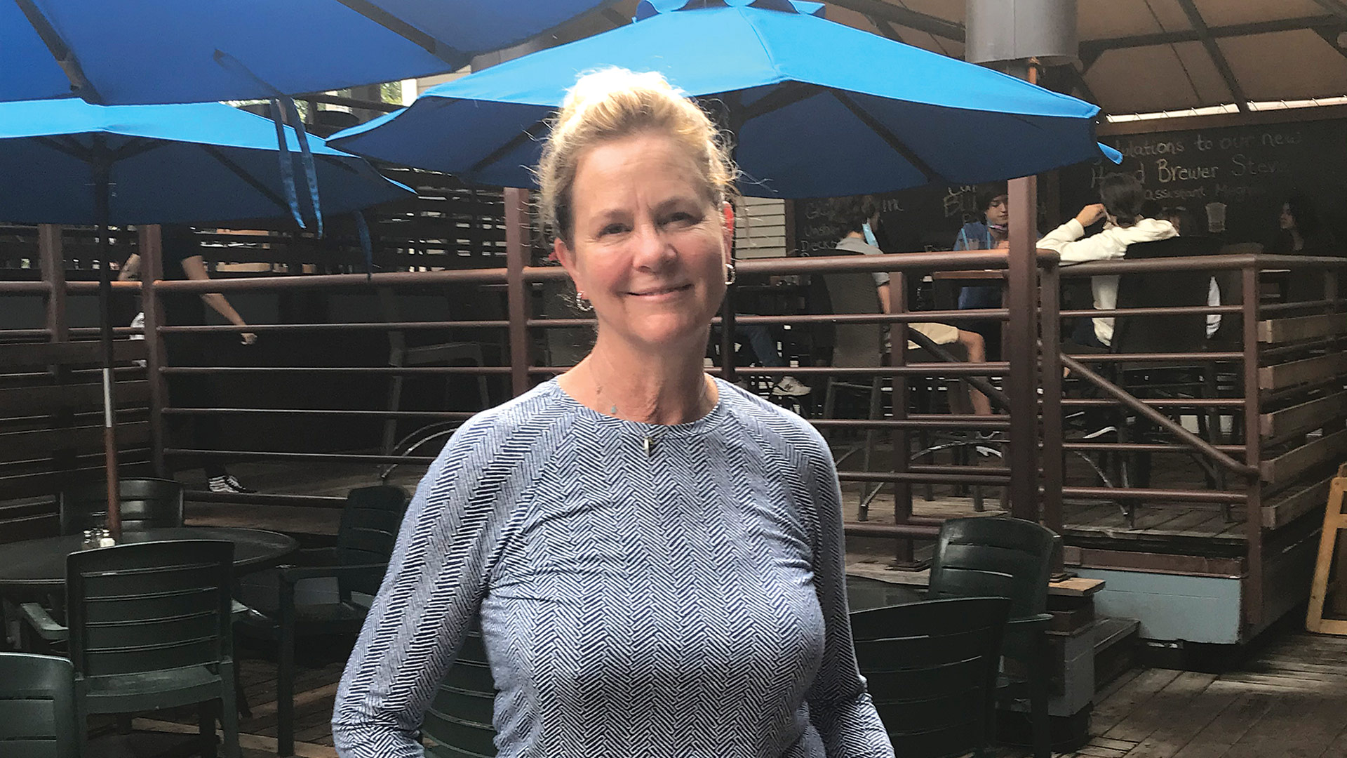 "Janet Egelston says she is ""eternally optimistic"""