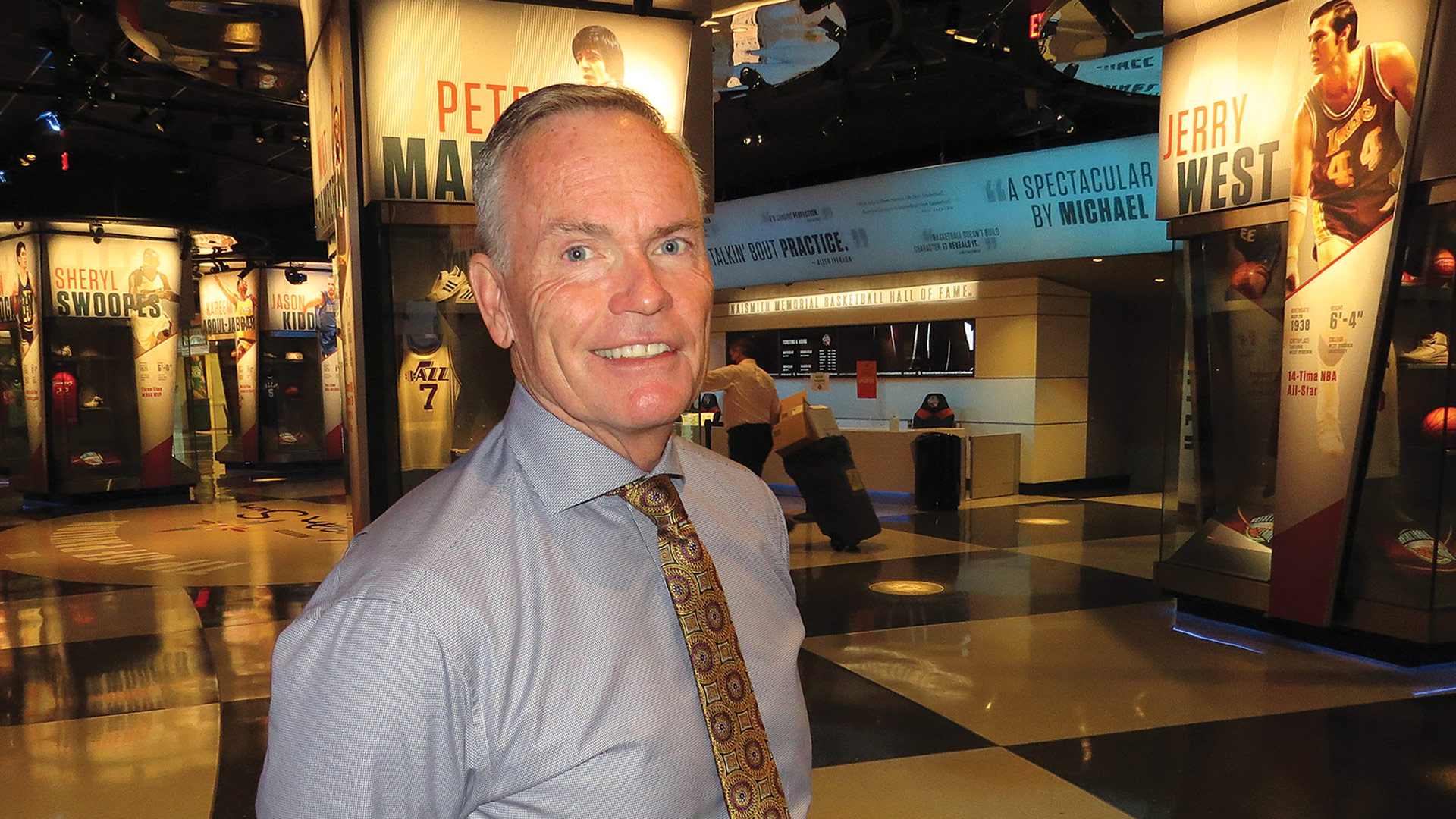 Hall of Fame President and CEO John Doleva
