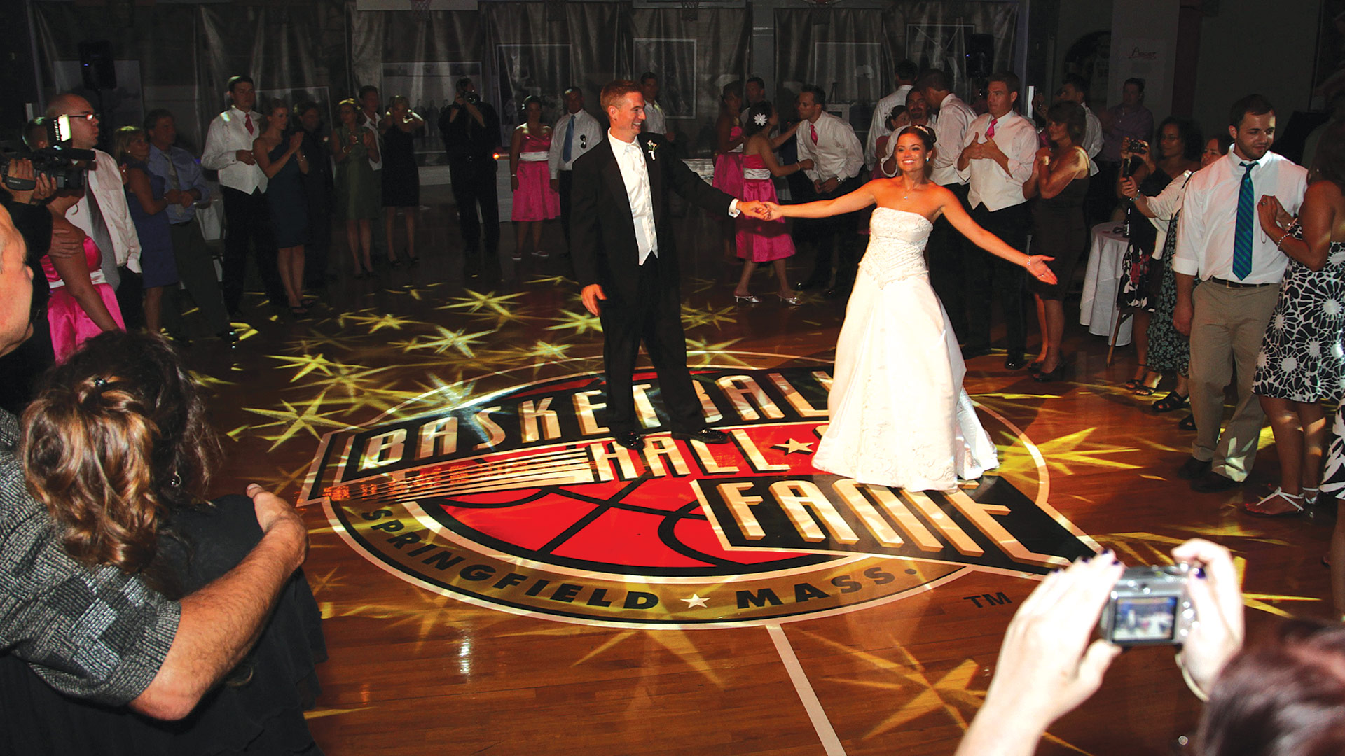 Center Court at the Hall has hosted many types of events