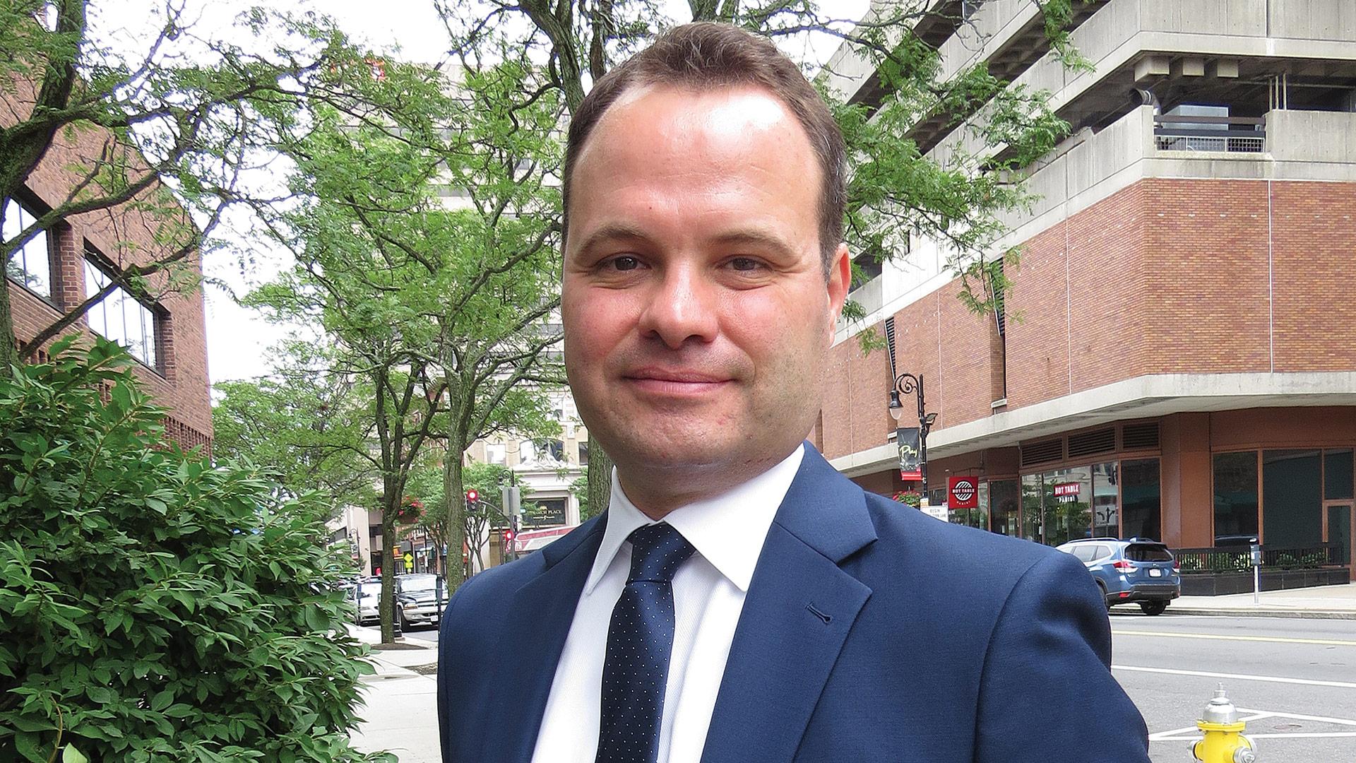 State Sen. Eric Lesser